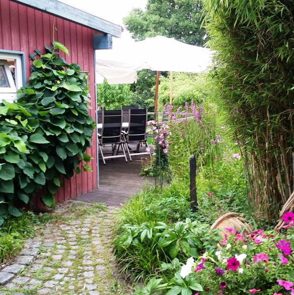 Holzterrasse, Pflanzung Do-Hörde